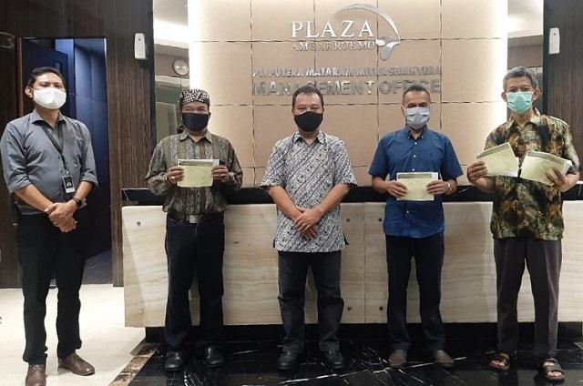Semarak Lebaran Ditengah Pandemi Covid-19, Plaza Ambarrukmo Yogyakarta Gelar Aksi Sosial CSR