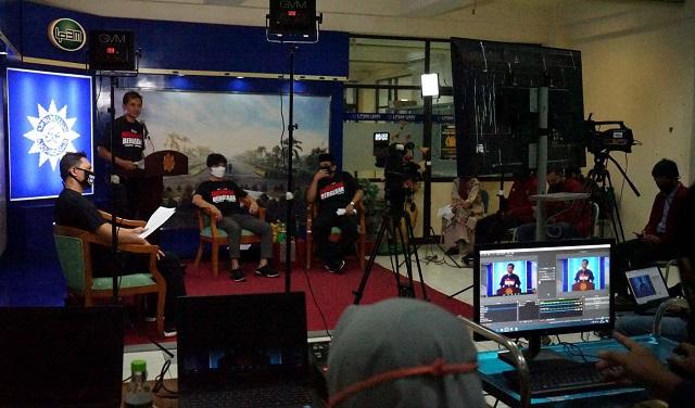 Mahasiswa Universitas Muhammadiyah Yogyakarta Ikuti KKN Tematik Kesehatan Berbasis IT