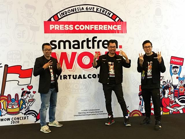 Smartfren Hadirkan Konser Virtual Interaktif Tiga Negara, Jelang Perayaan Kemerdekaan