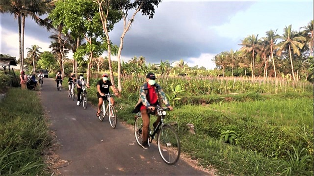 Wisata Sepeda Touring Keliling Desa Bersama Hotel Griya Persada Kaliurang Yogyakarta