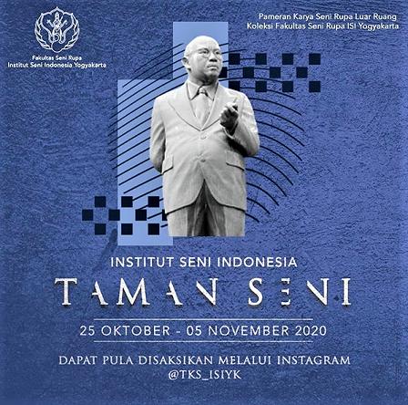 Institut Seni Indonesia -ISI Yogyakarta Gelar Pameran Secara Daring, 25 Oktober Hingga 5 November 2020