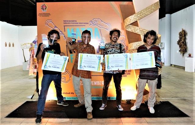 Pameran Kompetisi Matra Kriya Fest 2020, Ditutup Dengan Pengumuman Empat Juara