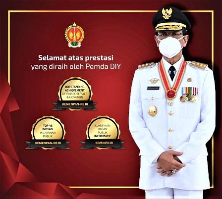 Program Jogja Plan DIY Raih Outstanding Achievement Dari Kemenpan-RB