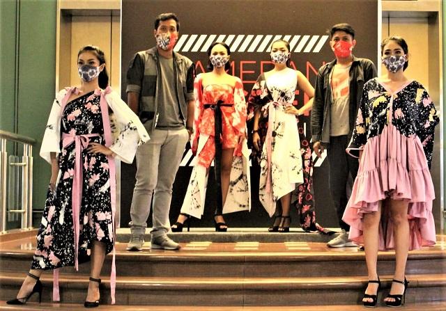 Fashion Show Masker Indonesia Akhir Tahun di Galeria Mall Yogyakarta, Sustainable Fashion Reduce-Reuse-Recycle.