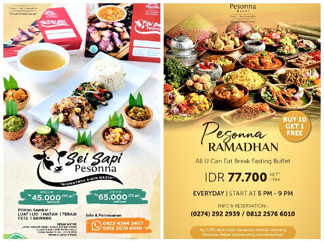 Srawung Ramadhan dan Pesonna Ramadhan Digelar Pesonna Hotel Malioboro dan Pesonna Hotel Tugu Yogyakarta