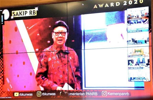 Akuntabilitas Kinerja Tahun 2020 Pemprov Daerah Istimewa Yogyakarta, Memperoleh Nilai 90,31 atau Predikat AA