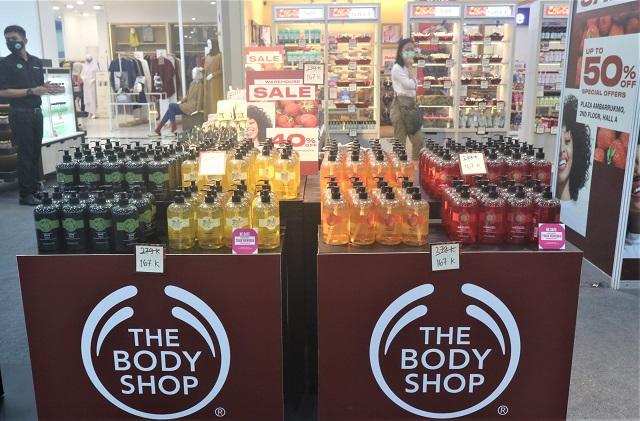 The Body Shop Plaza Ambarrukmo Yogyakarta Gelar Bazaar Ware House Sale Hingga 21 Mei 2021