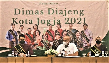 Pengenalan 30 Finalis Dimas Diajeng Kota Yogyakarta 2021