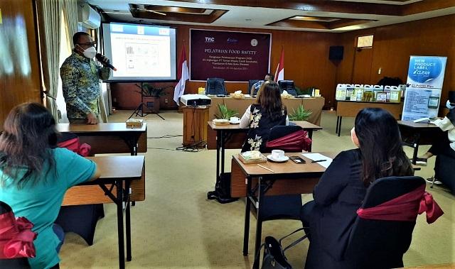 Utamakan Keamanan Tamu, The Manohara Hotel Yogyakarta Ikuti Food Safety Training