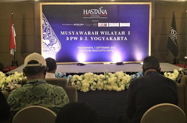 Musyawarah Wilayah I DPW HASTANA Daerah Istimewa Yogyakarta, 1 September 2021