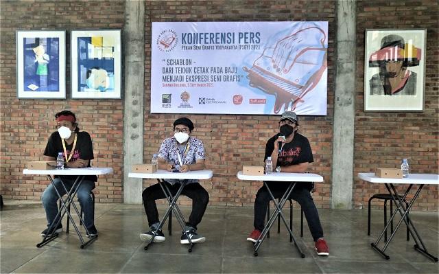 Pekan Seni Grafis Yogyakarta -PSGY 2021, Di Sarang Building dan Kiniko Art Room Kalipakis, Yogyakarta, 2-27 September 2021