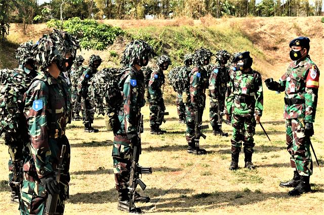 Prasis Semaba PK Wanita TNI AU Angkatan 47 Selesai Latihan Berganda Merak Sakti