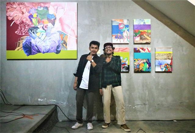 Duo Art Exhibition Antino Restu Aji dan Raka Adityatama, di Poison Smoothie Bar and Art Space Yogyakarta, 11-26 September 2021