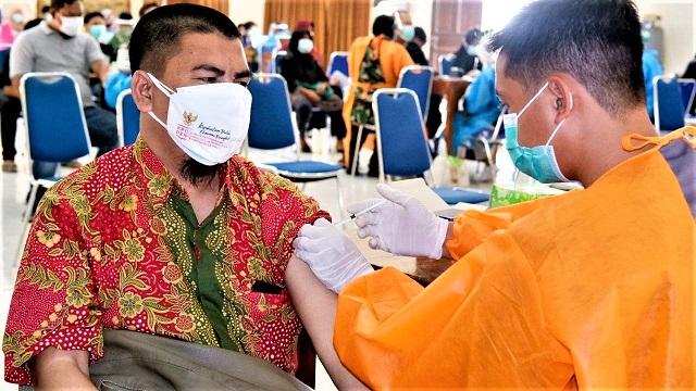 Lanud Adisutjipto Yogyakarta, Kembali Gelar Vaksinasi Dosis Pertama Untuk Masyarakat