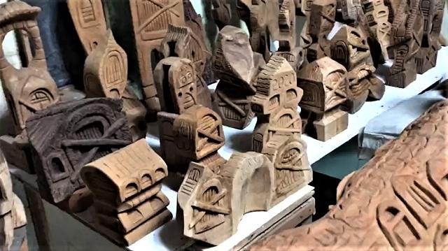Ali Umar, Seniman Pematung Jogja, Bagikan Patung Kayu, Kreasinya Selama Pandemi