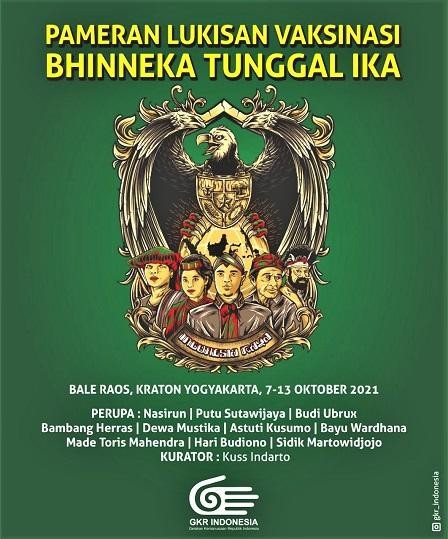 Pameran Lukisan Vaksinasi Di Resto Bale Raos Kraton Yogyakarta, 7-13 Oktober 2021