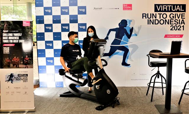 Run For Your Well-Being, Marriottt International Gelar Virtual Run To Give, 1-31 Oktober 2021