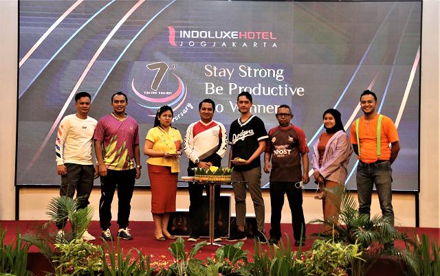 Ulang Tahun ke-7 Indoluxe Hotel Jogjakarta, Stay Strong, Be Productive, Go Winner