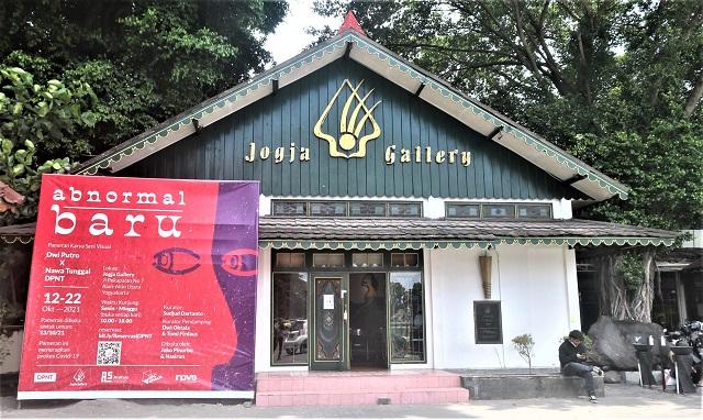 Pameran Karya Visual Abnormal Baru, Dwi Putro x Nawa Tunggal -DPNT Di Jogja Gallery Alun-Alun Utara, Yogyakarta, 12-22 Oktober 2021