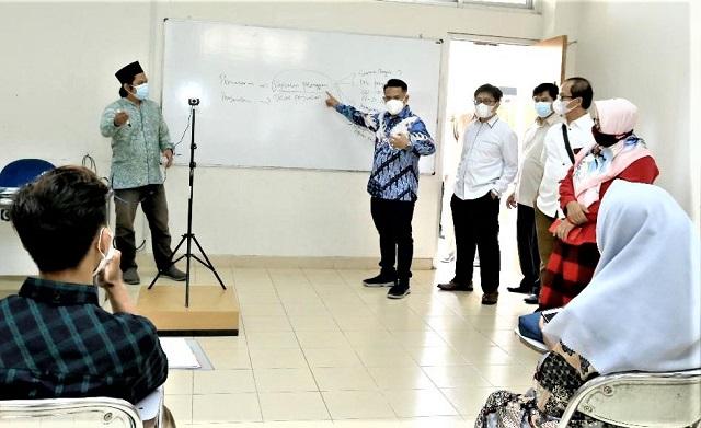 UIN Sunan Kalijaga Yogyakarta Gelar Hari Pertama Perkuliahan Tatap Muka