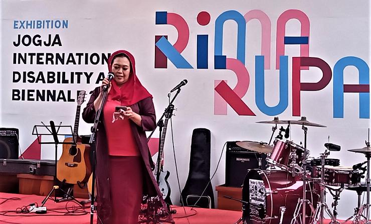 ISI Yogyakarta Gelar Pameran Jogja International Disability Arts Biennale 2021