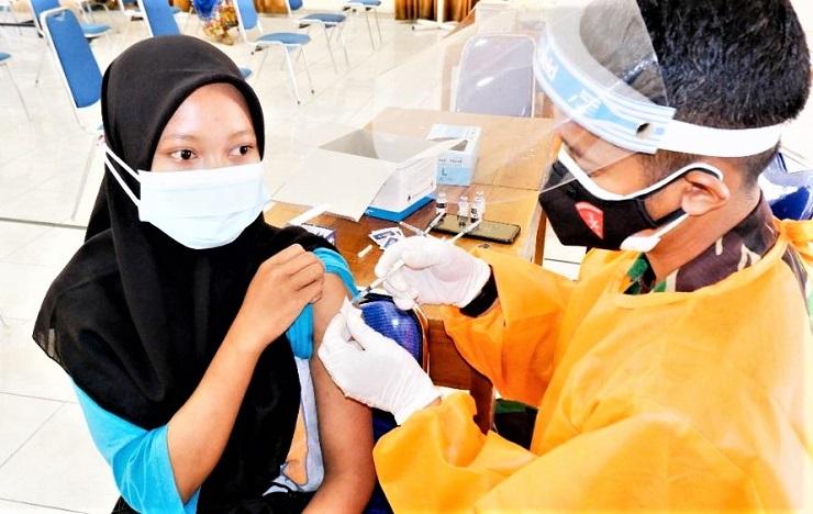 Lanud Adisutjipto Yogyakarta, Terus Gelar Vaksinasi Harian