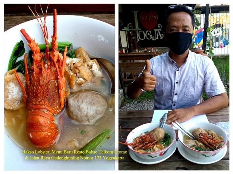 Bakso Lobster, Menu Baru Bakso Telkom Utomo Gedongkuning Yogyakarta