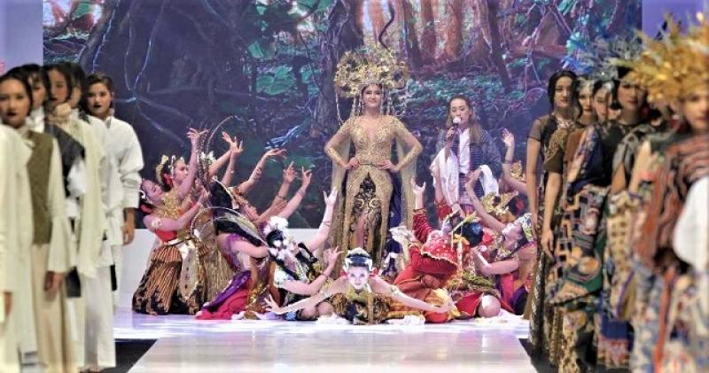 Peragaan Busana Jogja Fashion Rendezvous 2020 JCM Berlangsung Sukses Sepenuhnya Penuhi ProKes