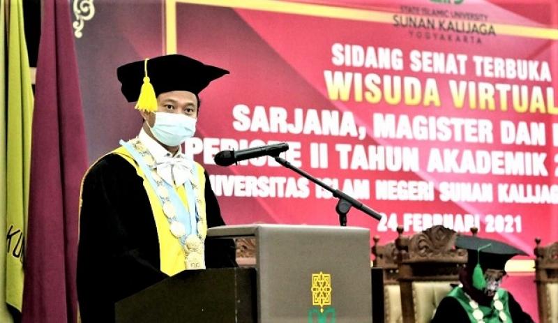 Rektor UIN Sunan Kalijaga Mengajak Bersyukur, Karena Mendapatkan Tiga Kenikmatan